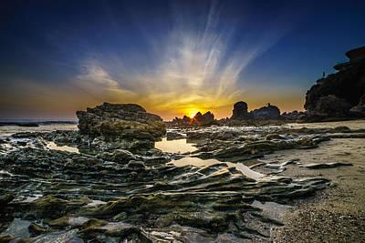 Photograph - Corona Del Mar Fade Out by Cameron Howard