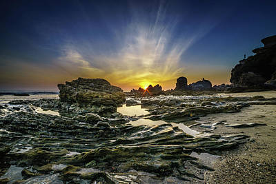 Photograph - Corona Del Mar Fade Out by LiveforBlu Gallery