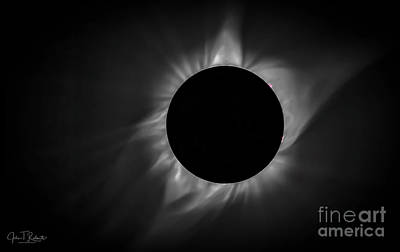 Photograph - Corona During Total Solar Eclipse by John Roberts