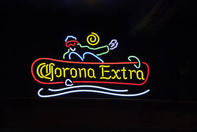 Photograph - Corona Extra by Maria Coulson