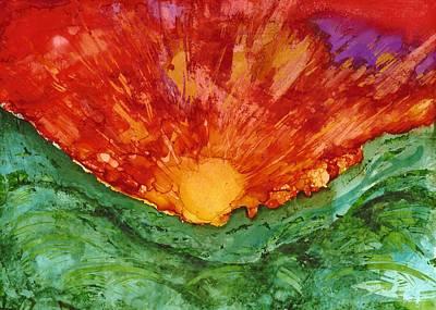 Joy Dorr Painting - Corona by Joy Dorr