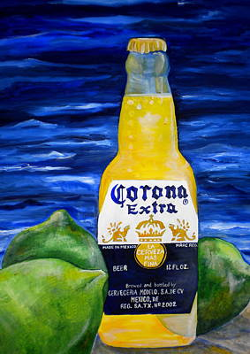 Painting - Corona by Patti Schermerhorn