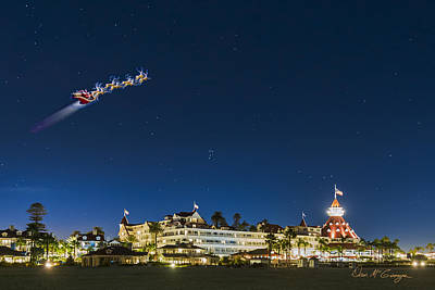 Photograph - Coronado Christmas by Dan McGeorge