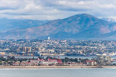 Antennae Painting - Coronado Coast - San Diego Photograph by Duane Miller