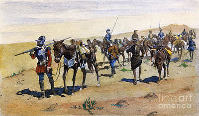 Coronados March, 1540 Art Print