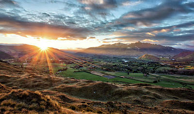 Photograph - Coronet Peak And Skippers Canyon Sunrise by Amber Kresge