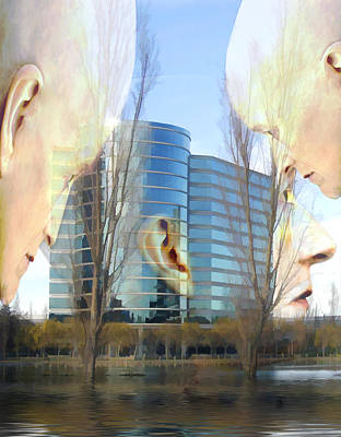 Photograph - Corporate Cloning by Kurt Van Wagner