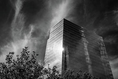 Photograph - Corporate In Bw by James Barber