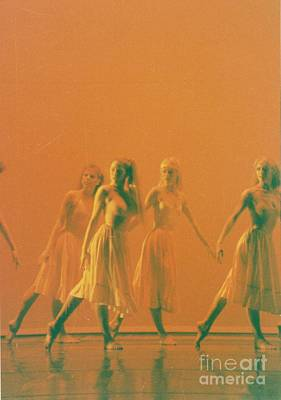 Corps De Ballet Art Print by Mia Alexander