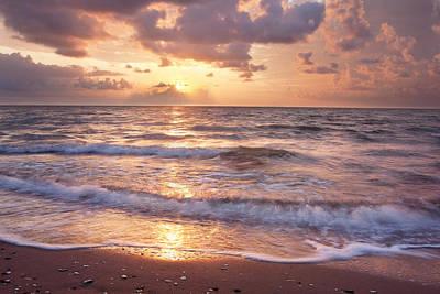 Corpus Christi Photograph - Corpus Christi Bay Sunrise by Paul Huchton