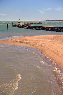Photograph - Corpus Christi Beach by Angela Murdock