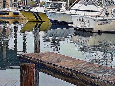 Photograph - Corpus Christi Dock by Kathie Chicoine