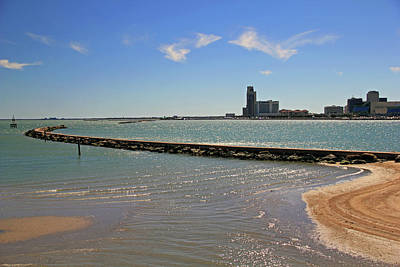 Photograph - Corpus Christi Harbor by Angela Murdock
