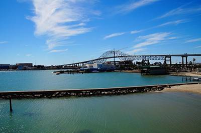 Photograph - Corpus Christi Harbor Bridge by Mike Murdock
