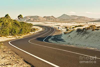 Corralejo Photograph - Corralejo Dunes In Fuerteventura by Brigida Soriano