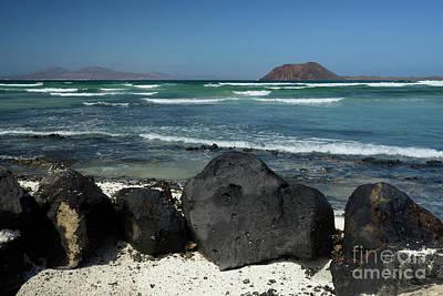 Corralejo Photograph - Corralejo Lava Rocks, Fuerteventura by Axel Ellerhorst