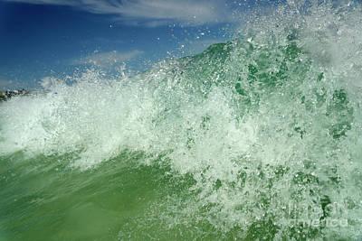 Corralejo Photograph - Corralejo Wave, Fuerteventura by Axel Ellerhorst