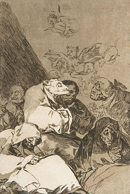 Relief - Correction by Francisco Goya