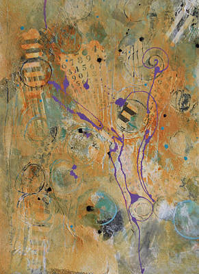 Painting - Correlation 2 by Kate Word