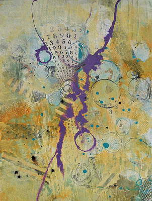 Mixed Media - Correlation 4 by Kate Word