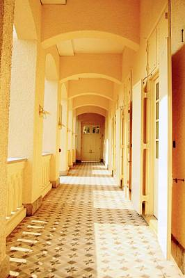 Academy Of Television Arts Photograph - Corridor At Bethanie Hong Kong Built Als Sanatorium To Date Used By The Hong Kong Academy  by IMjust86
