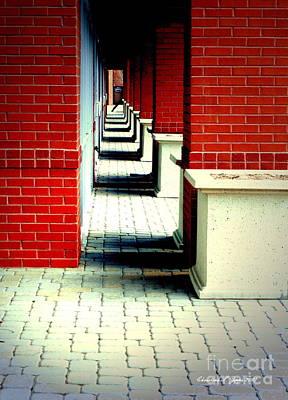 Photograph - Corridor by Christine Zipps
