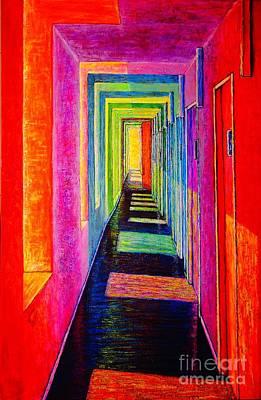 Painting - Corridor by Viktor Lazarev