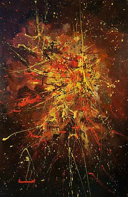 Indigenous Australians Painting - Corroboree 1.0 by Giro  Tavitian