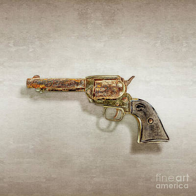 Photograph - Corroded Peacemaker by YoPedro