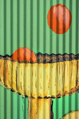 Photograph - Corrugated Cocktail by David Hare