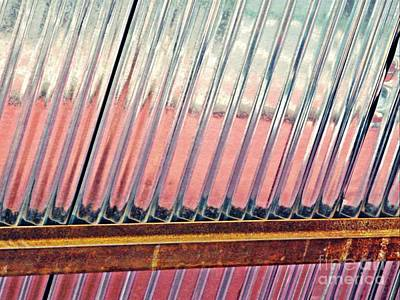 Corrugated Metal Abstract 1   Art Print