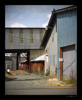 Photograph - Corrugated by Tim Nyberg
