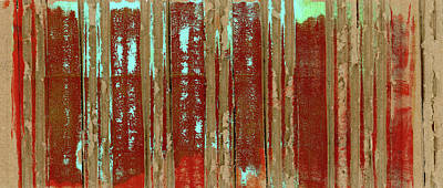 Cardboard Photograph - Corrugation by Carol Leigh