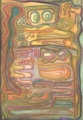 Pastel - Corrupt Joe by Diane Morrison