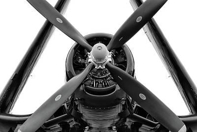 Photograph - Corsair Symmetry - 2018 Christopher Buff, Www.aviationbuff.com by Chris Buff