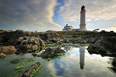 Corsewall Lighthouse Art Print by Grant Glendinning