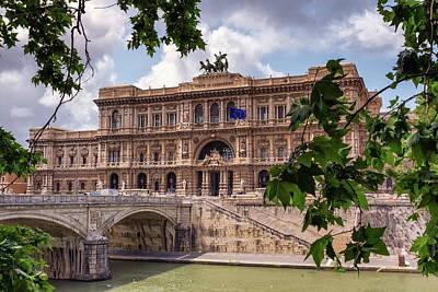 Photograph - Corte Di Cassazione, Cassation Court, Roma, Italy by Elenarts - Elena Duvernay photo