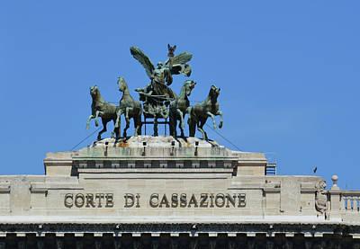 Photograph - Corte Di Cassazione by JAMART Photography