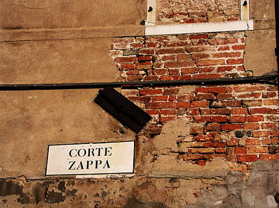 Photograph - Corte Zappa by Mary Capriole