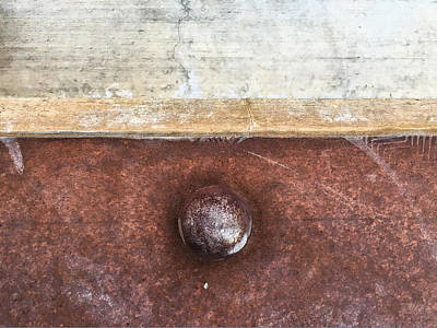 Photograph - Corten And Concrete by Stan  Magnan