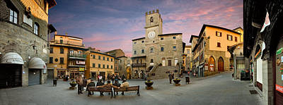 Photograph - Cortona Piazza by Al Hurley