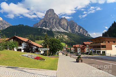 Photograph - Corvara In Badia by Antonio Scarpi