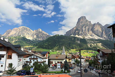 Photograph - Corvara In Badia Valley by Antonio Scarpi