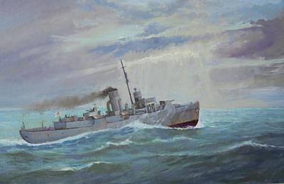 Painting - Corvette 1943 by Mike Jeffries