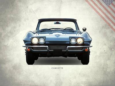 C2 Photograph - Corvette 1964 Front by Mark Rogan
