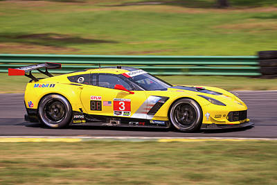 Photograph - Corvette 3 Garcia Magnussen by Alan Raasch