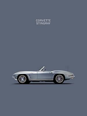 C2 Photograph - Corvette 65 by Mark Rogan