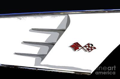 Corvette Colors Art Print