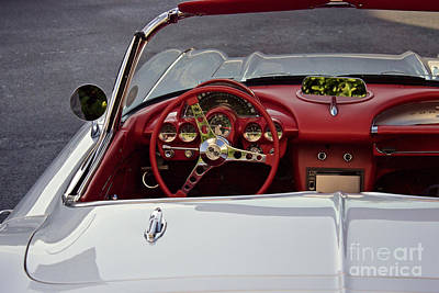 Photograph - Corvette Convertible by Edward Fielding