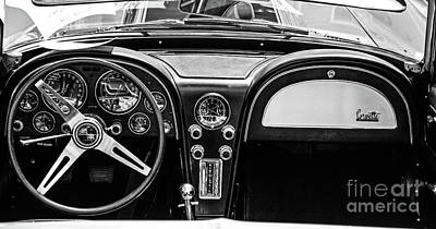 Photograph - Corvette Dash by Kevin Fortier
